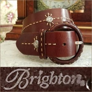 Women's Brighton Genuine Leather Western Belt